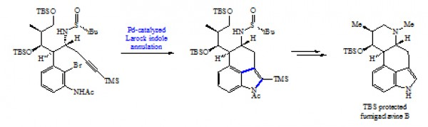 50. Ma, Y; Jia, Y. J. Synthetic study toward the total synthesis of fumigaclavines A–D. Chin. Pharm. Sci. 2017, 26, (7), 496–503.