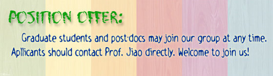 Welcome to the Jiao Group